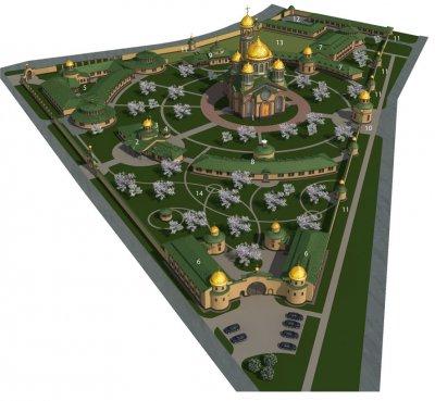Проект Свято-Троїцького монастиря
